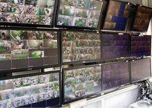 廠區 攝影機安裝施工